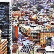 Looking East In Baltimore Art Print