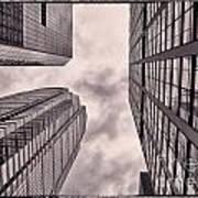 Looking Up In Philadelphia 3 Art Print