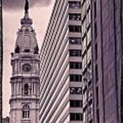 Looking Up In Philadelphia 7 Art Print
