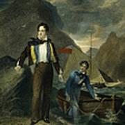 Lord Byron Art Print by Granger