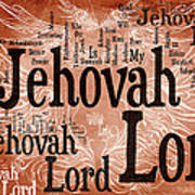 Lord Jehovah Art Print