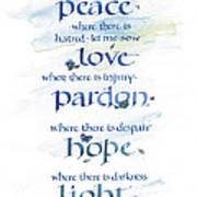 Lord Peace Art Print