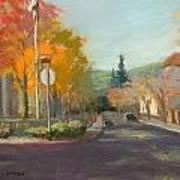 Los Atos Fall Colors Art Print