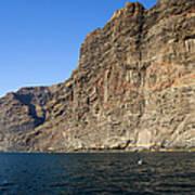 Los Gigantes Cliffs Art Print