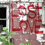 Lost Love Art Print