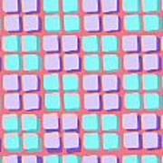 Lots Of Squares Art Print