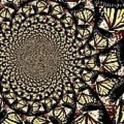 Lotsa Butterflies  Art Print