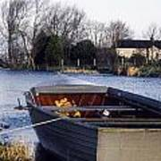 Lough Neagh, Co Antrim, Ireland Boat In Art Print