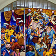 Louis Armstrong Airport Art Print