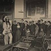 Louis Firetail, Wearing Sioux Tribal Art Print