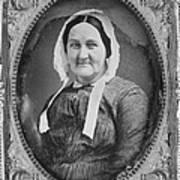 Louisa Van Velsor Whitman 1795-1873 Art Print