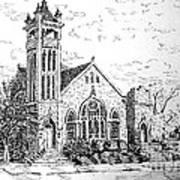 Louisianna Church 1 Art Print