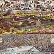 Louisville 1883 Art Print