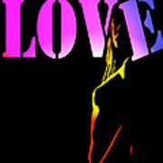 Love And Shadows Art Print