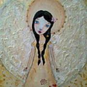 Love Angel Art Print