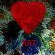 Love Art 3 Art Print