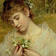 Love In A Mist Art Print by Sophie Anderson
