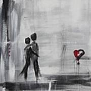 Love Story 1 Art Print