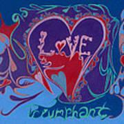 Love Triumphant 2nd Of 3  Art Print