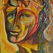 Loved Face Art Print