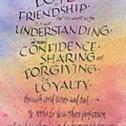 Lovefriendship Art Print