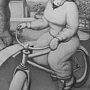 Lovely Little Plump Lady Art Print by Louis Gleason