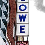 Lowe Drug Store Sign Color Art Print