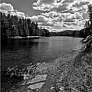 Lower Madawaska River Art Print