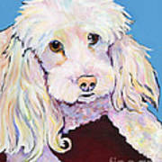 Lucy Art Print by Pat Saunders-White