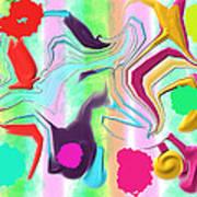 Ludere Art Print by Rosana Ortiz