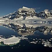 Luigi Peak Wiencke Island Antarctic Art Print by Colin Monteath