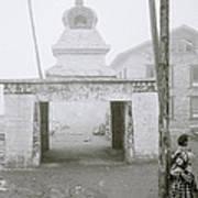 Lukla In The Himalaya Art Print