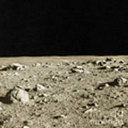 Lunar Surface Print by Science Source