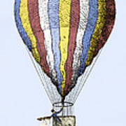 Lunardi's Balloon, 1784 Art Print