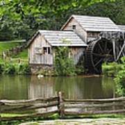 Mabry Mill  Virginia Art Print