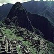Machu Picchu, A Pre-columian Inca Ruin Art Print