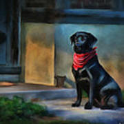 Mack Waits Art Print by Suni Roveto