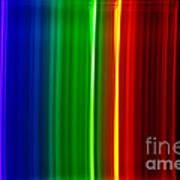 Macro Bromine Spectra Art Print