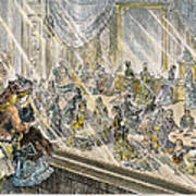 Macys Holiday Display, 1876 Art Print