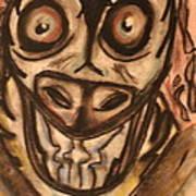 Mad Cow Disease Art Print by Shadrach Ensor