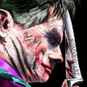 Mad Men Series 2 Of 6 - Romney The Joker Art Print