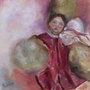 Madame Alexander Cisette Doll Art Print by Susan Hanlon
