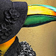 Madame Toucan Of New Orleans Art Print