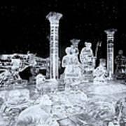Made Of Ice V5 Art Print