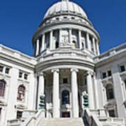 Madison Capitol Building Art Print