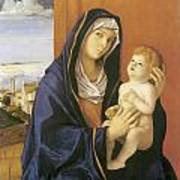 Madonna And Child Art Print by Giovanni Bellini