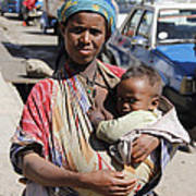 Madonna Of Addis Ababa  Art Print