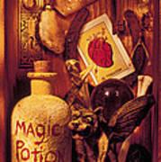 Magic Things Art Print by Garry Gay