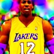 Magical Dwight Howard Laker Art Print