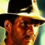 Magical Indiana Jones Art Print